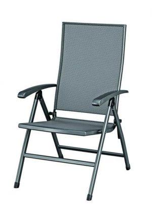 SIERO Verstelbare stoel Antraciet