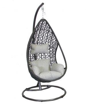 1061479220 Mona Relaxstoel Zwart