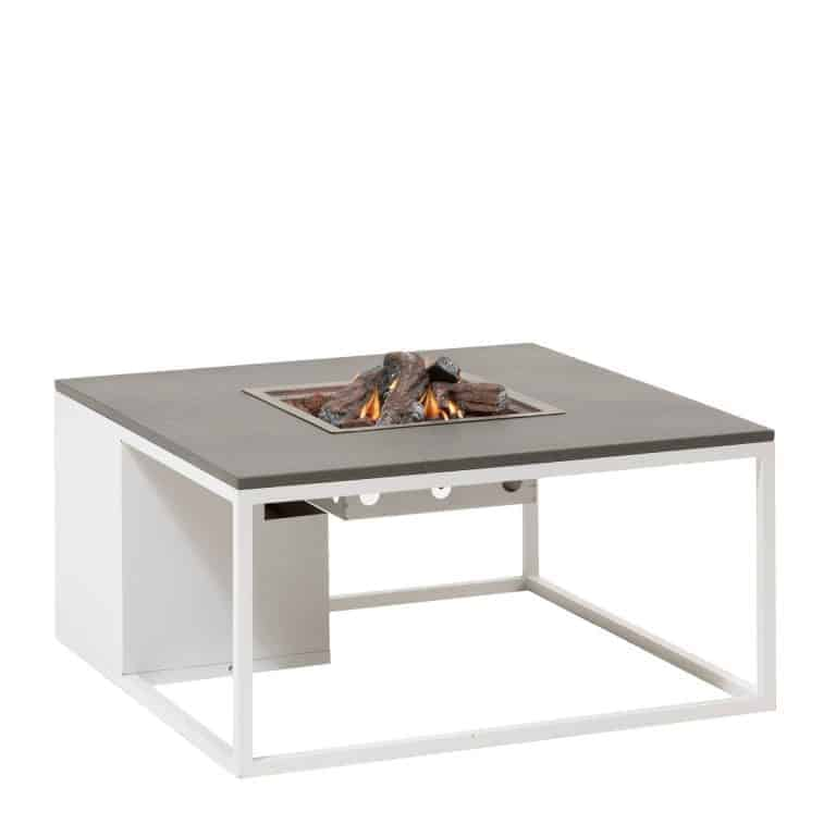 5957880 Cosiloft 100 Lounge Table White Grey Side