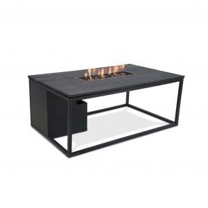 Cosiloft zwart frame met zwart tafelblad