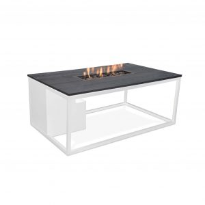 Cosiloft wit frame met zwart tafelblad