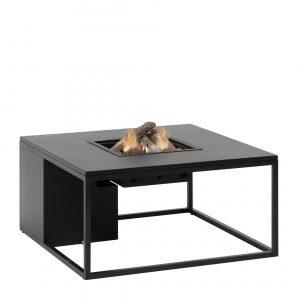 5980980 - Cosiloft 100 lounge table black-black alu - side