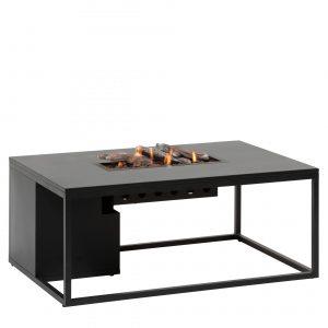 5980990 Cosiloft 120 Lounge Table Black Black Alu Side