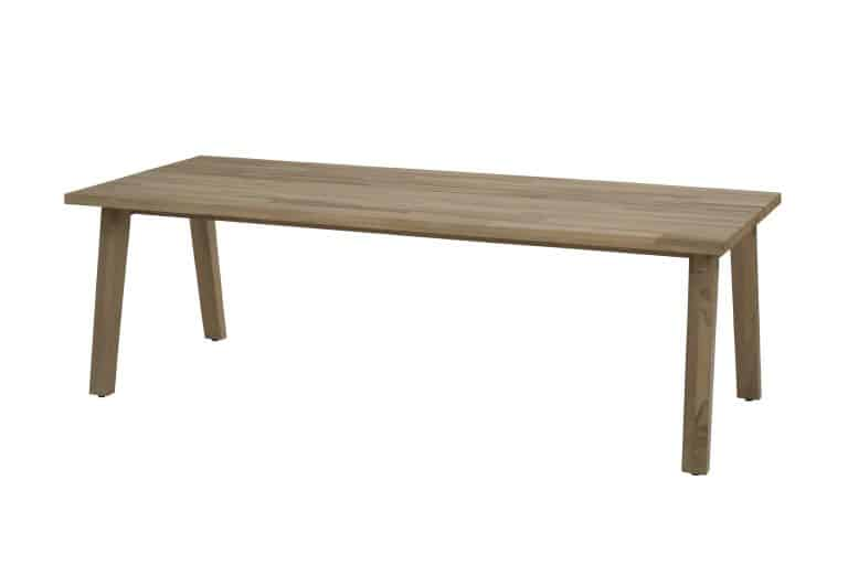 Derby Dining Table Teak Top With Teak Legs 240x100cm