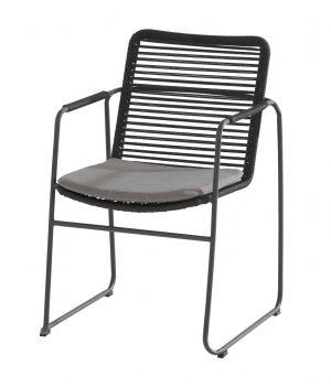 Elba stapelbare Dining stoel