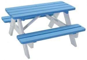 Mickey Picknickbank blauw