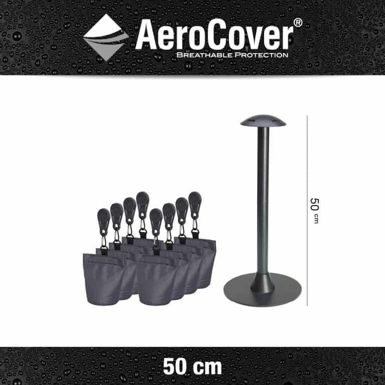 7810 Hoessteunset 50cm Antraciet Aerocover 8717591778646