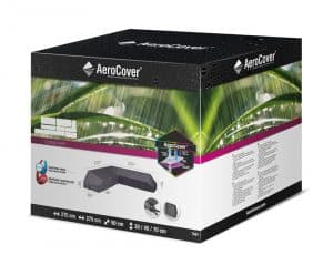 Loungesethoes Platform Hoekset 275x275 Antraciet Doos Aerocover 8717591778349