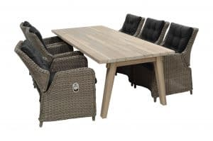 Palma Dining set met Derby Tafel