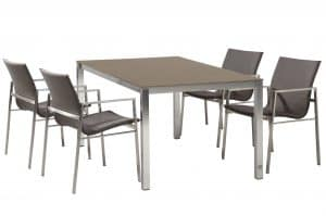 Resort Dining Set Rivoli Taupe