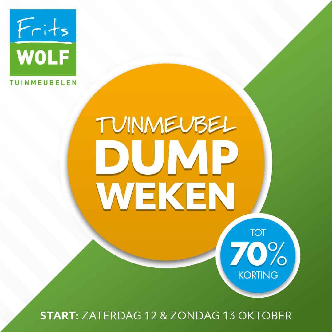 Frits Wolf Beuningen.Dumpweken Frits Wolf Tuinmeubelen