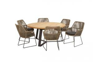 213507 91079 91080 Ramblas Dining With Round Basso Table 02