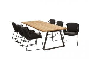 213520 91077 91078 Accor Dining Anthracite With Basso Table 02