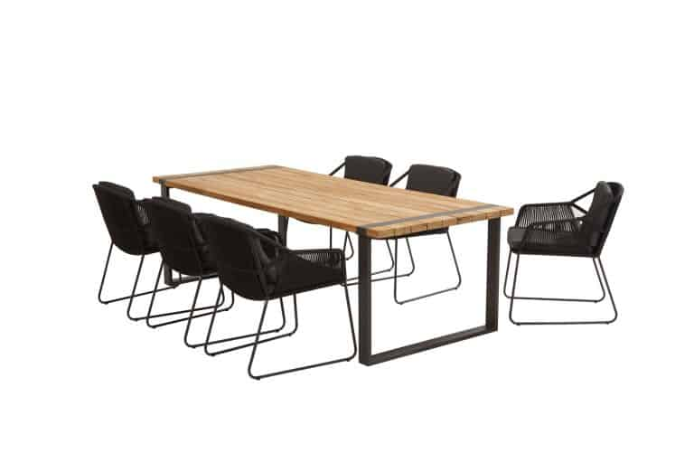 213520 91081 91082 Accor Dining Anthracite With Alto Table 01