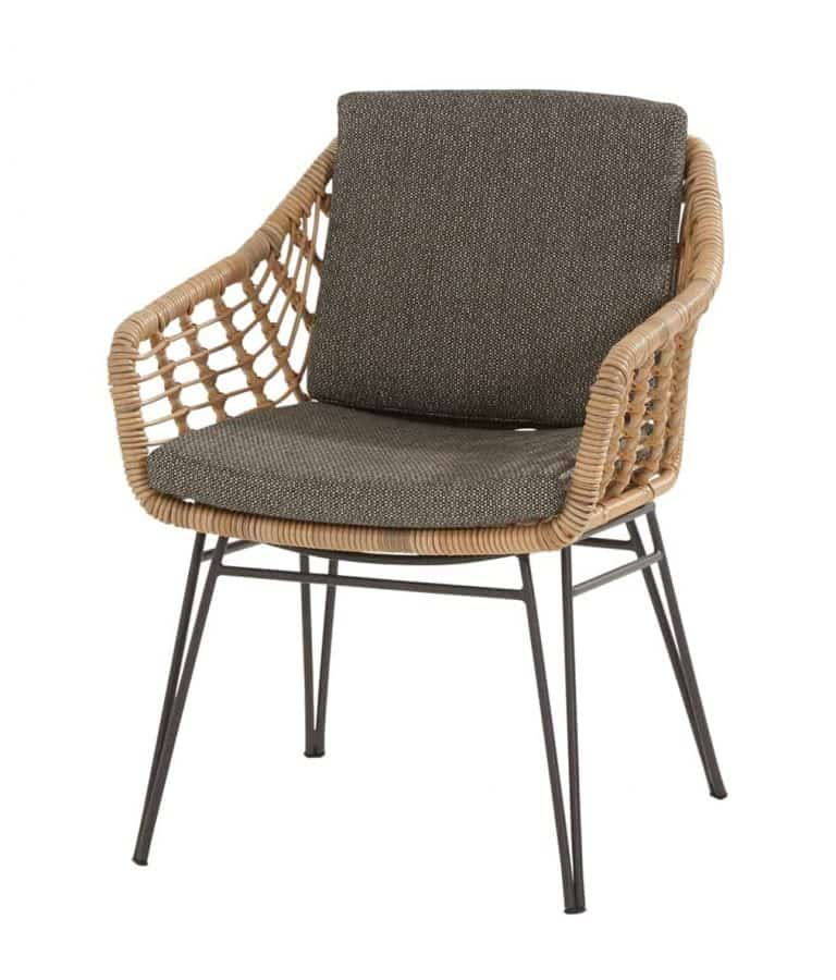 213547 Cottage Dining Chair With 2 Cushions 01
