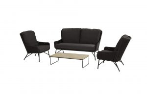 203 213512 213513 213550 Wing Lounge Set With Axel Table