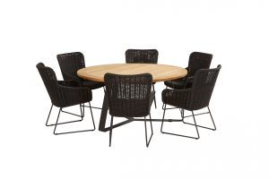 213511 91079 91080 Wing Dining With Round Basso Table 01