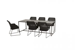 213525 19717 19718 Samoa Dining Anthracite With Quatro Table 02