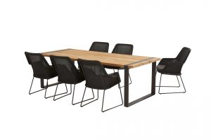 213525 91081 91082 Samoa Dining Anthracite With Alto Table 02