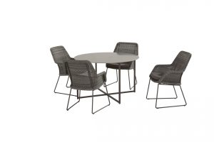 213526 19715 Samoa Dining Charcoal With Quatro Round Table 02