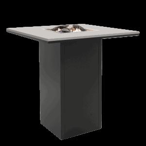 5980100 Cosiloft 100 Bar Table Black Grey