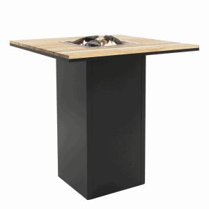 5980110 Cosiloft 100 Bar Table Black Teak