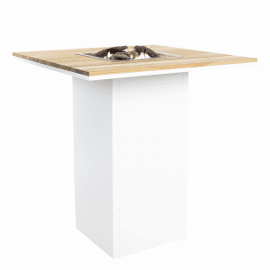 5980120 Cosiloft 100 Bar Table White Teak