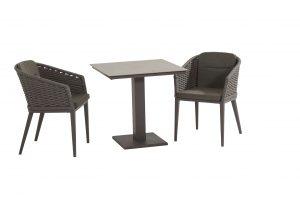 90807 91057 Portobello Dining With Titan Ceramic Table Matt Carbon 02