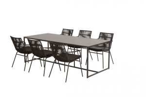 91015 19717 19718 Wave Dining With Quatro Table 01
