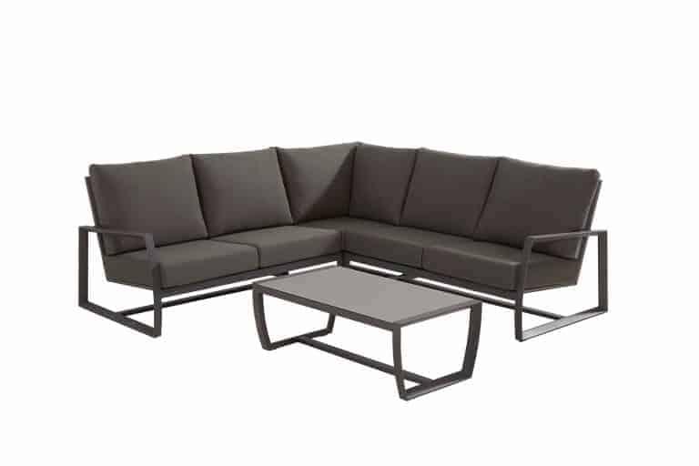 91028 91030 91026 NEW Mauritius Small Corner With Table Matt Carbon