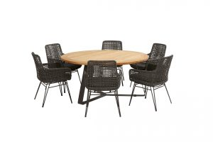 91073 91079 91080 Opera Dining With Round Basso Table 01