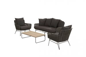 91074 91075 213550 Opera Lounge Set With Axel Table