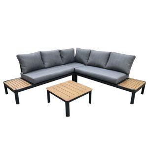 Lotus Antraciet Platform Lounge