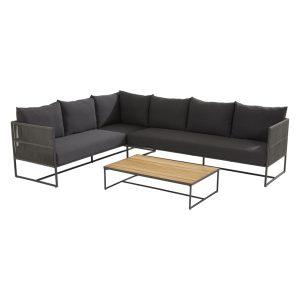 91129 91130 213738 Chill Modular Corner Set With Strada Rectangular Table