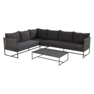 91129 91130 213740 Chill Modular Corner Set With Valetta Rectangular Table