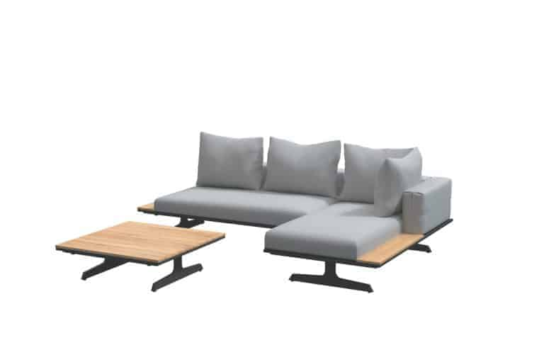 Endless Modular Concept 2 Items Chaise Lounge With Table V1